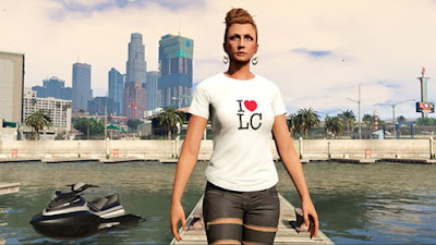 GTA Online - T-shirt I LOVE LC