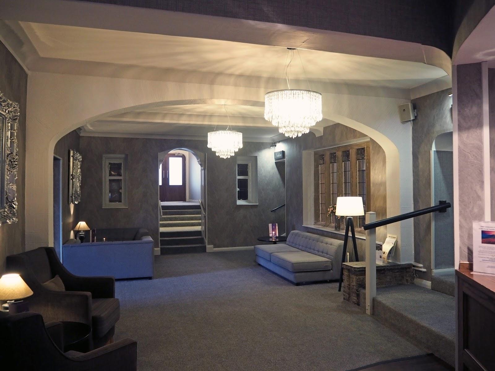 Stirk House, Gisburn,reception and bar