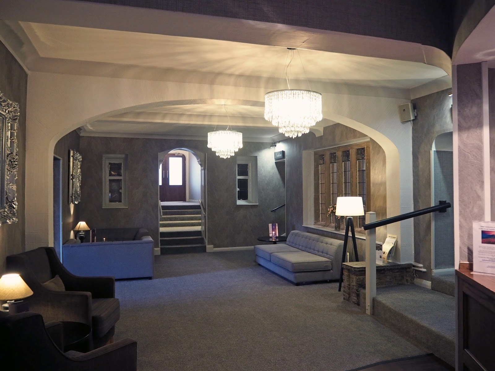 Stirk House, Gisburn,reception and bar