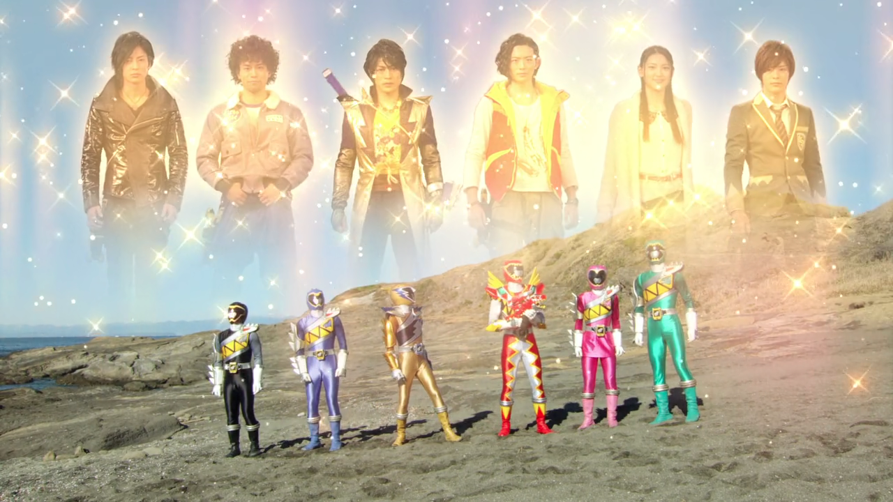Zyuden Sentai Kyoryuger Returns - 100 Years After