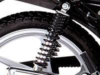 Honda CB1 PRO: Suspensión