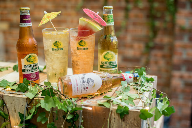 Somersby Apple cider, Somersby Blackberry cider and Somersby Sparkling Rosé