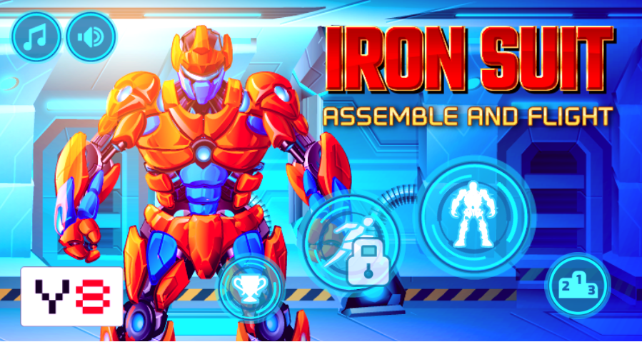 game Iron Suit: Assemble and Flight