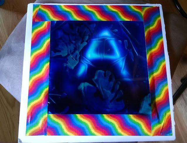 Multisensory Gel Board~anartfulmom.com