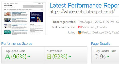 White SEO BT Fast Loading