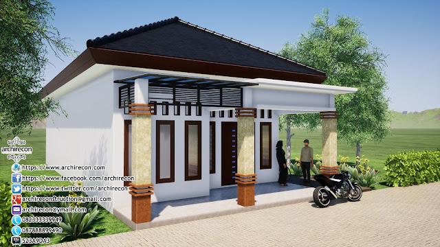 Renovasi Tampak Bangunan Minimalis - Detail Kusen