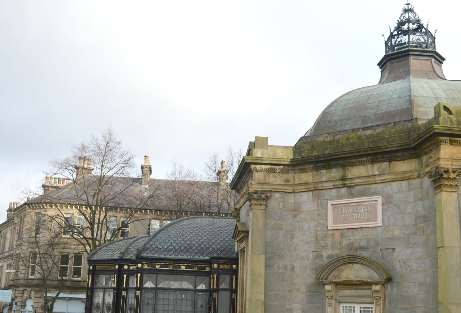 A Weekend in Harrogate - Royal Pump Room