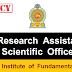 பதவி வெற்றிடம் : Research Assistant, Scientific Officer - National Institute of Fundamental Studies