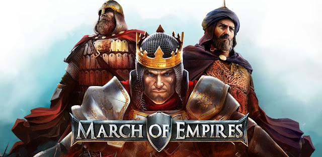 تحميل لعبة لعبة حرب الامبراطوريات March of Empires  للايفون والاندرويد
