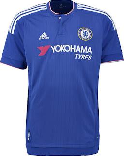 desain terbaru sponsor yokohama tyres musim depan Jersey Chelsea home Official terbaru musim depan 2015/2016 di enkosa sport