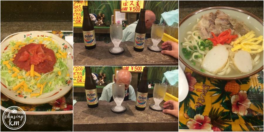 OKinawa Soba, Orion Berr, Okinawa Taco rice