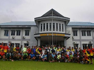 Korem Babullah Gelar Frimobi Bersama Polda Malut dan Lanal Ternate