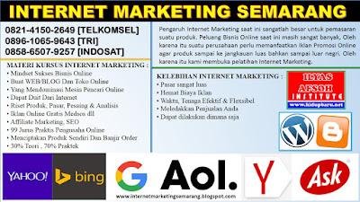 Pelatihan dan Sertifikasi Internet Marketing Boyolali