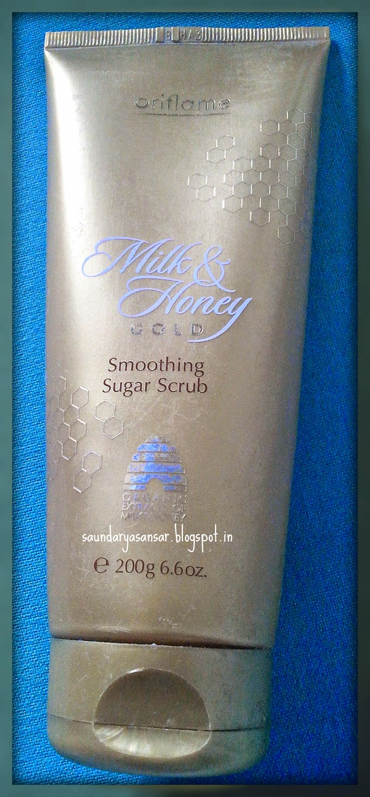 Oriflame Sweden MILK & HONEY Gold Smoothing Sugar Scrub Review