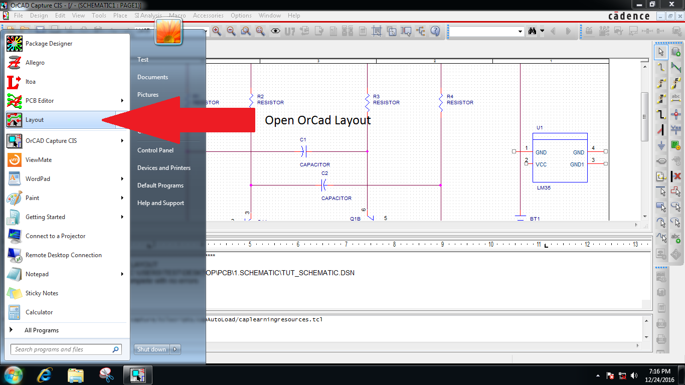 ChampLnx: PCB designing with Orcad - [PCB series Part 4]