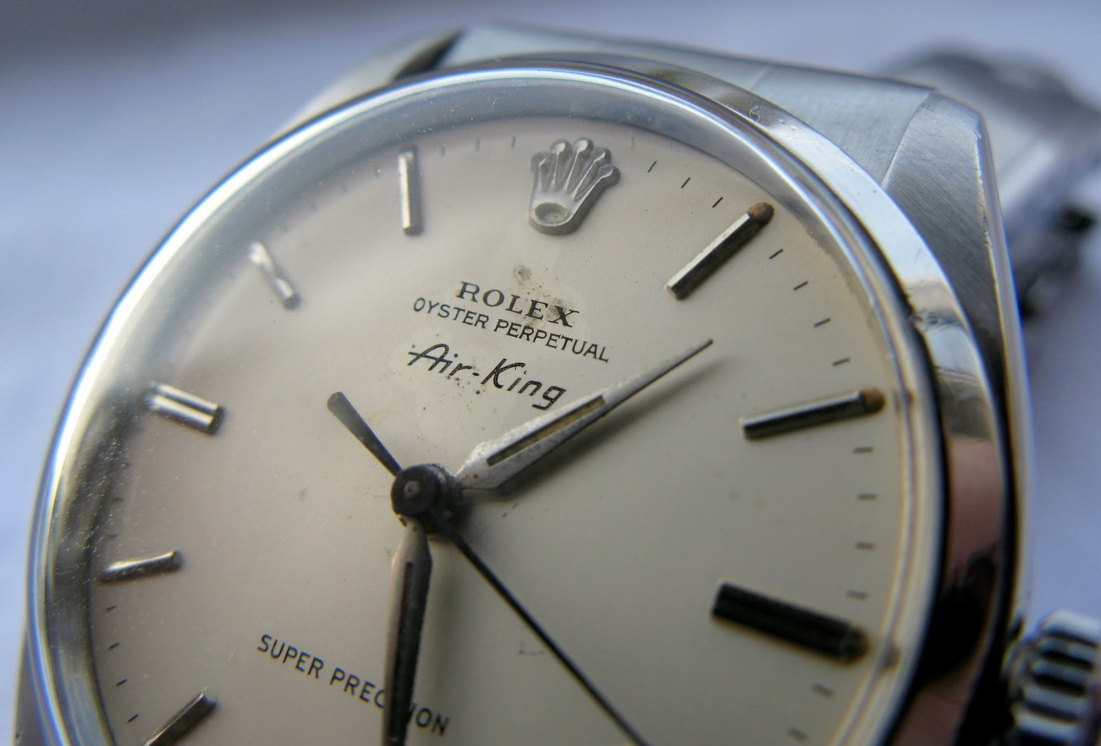 Andy B Vintage Watches 1959 Rolex Oyster Perpetual Air