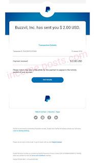 Honeyscreen payment proof incomeposts.com
