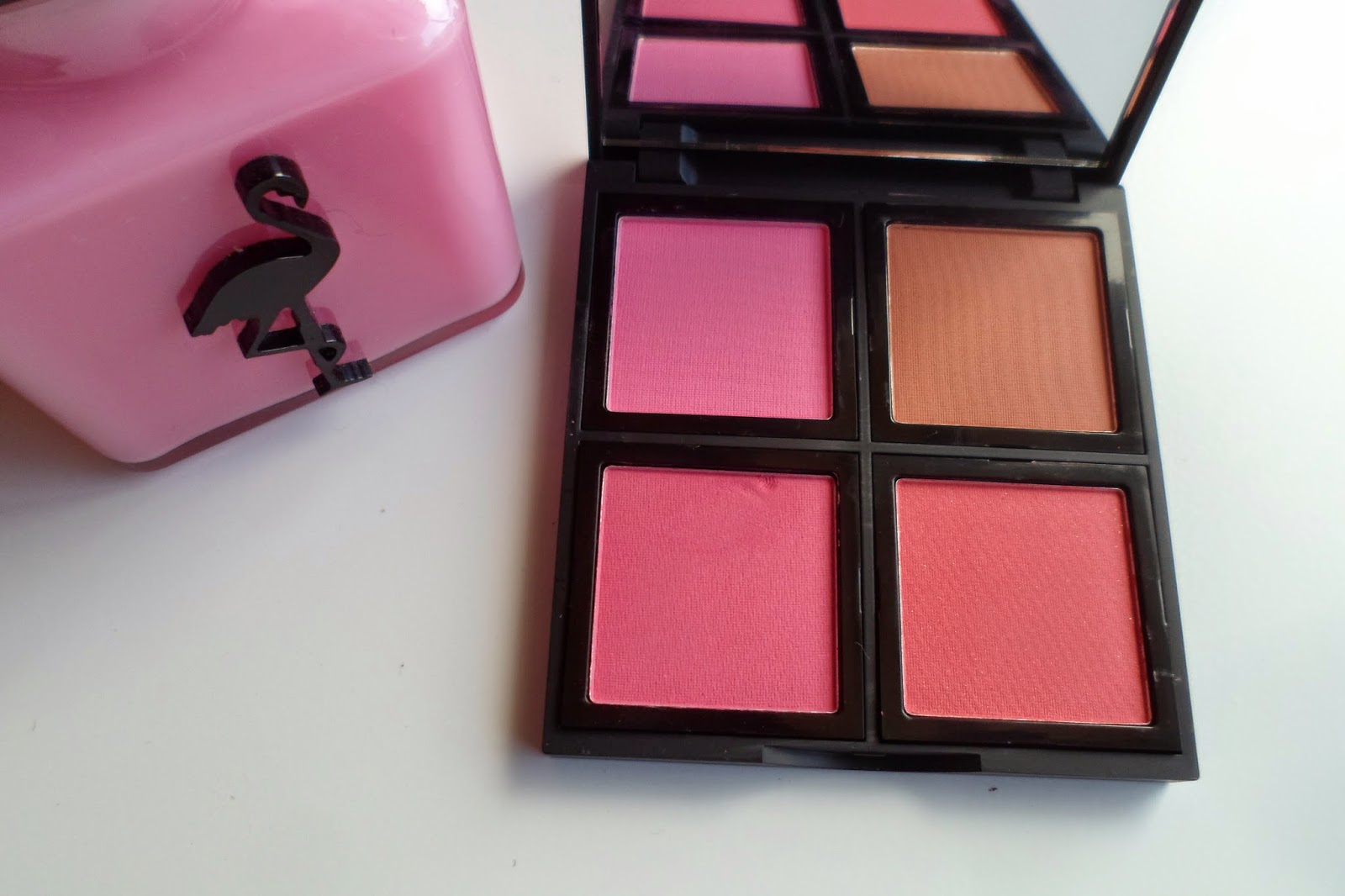 Elf Cosmetics Studio Blush Palette Review Aloha Kirstie Blushes Are A Bit Of Lessen Know Territory For Me Its Only Recently That I Have Started Wearing Them On More Regular Basis
