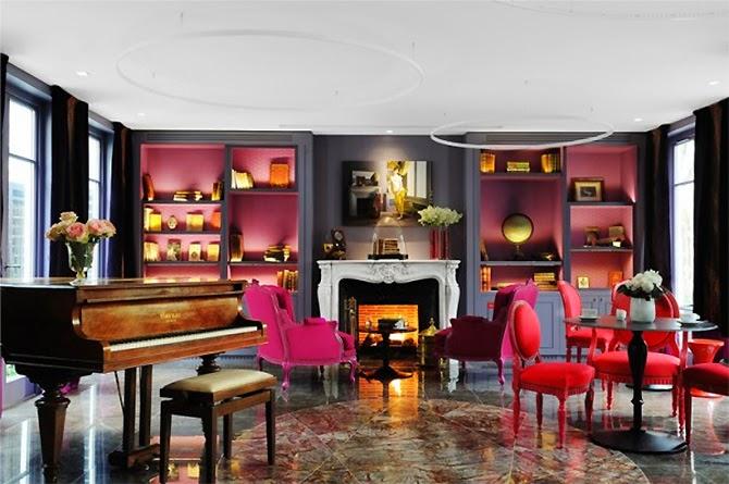 Luxury life design top 10 romantic hotels in paris for Hotel design paris 8