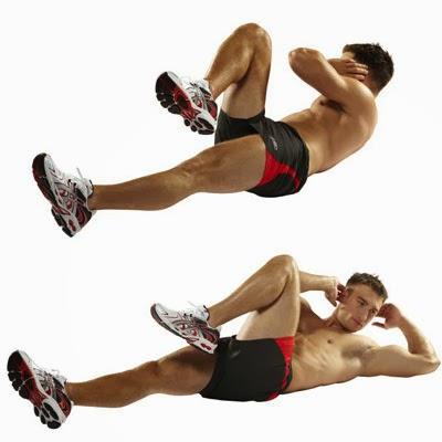 تدريبات عضلات البطن للحصول على تقسيمات البطن