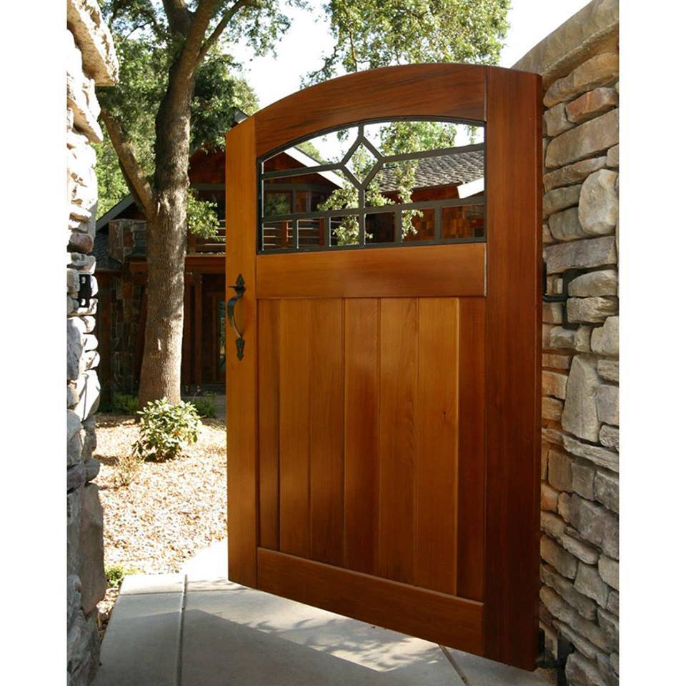 25 Magnificent Ideas Of Wooden Gates