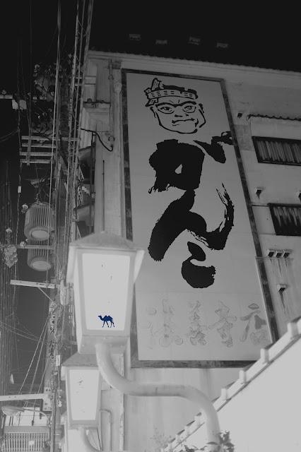 Le Chameau Bleu - Street Art Osaka