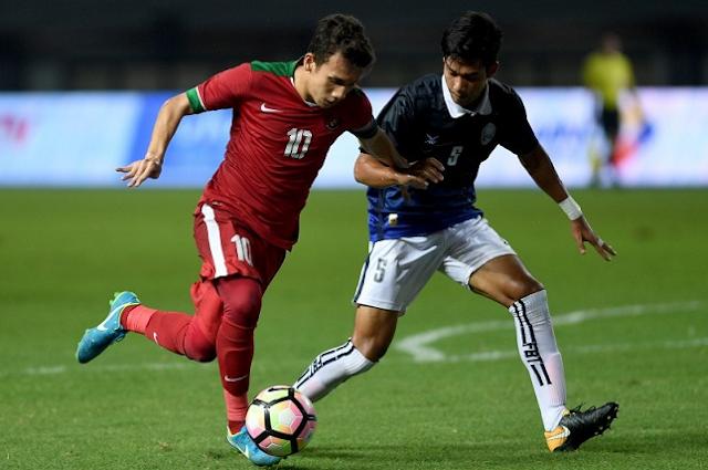 Dua Gol Telat Bawa Timnas U-19 Taklukkan Kamboja U-19