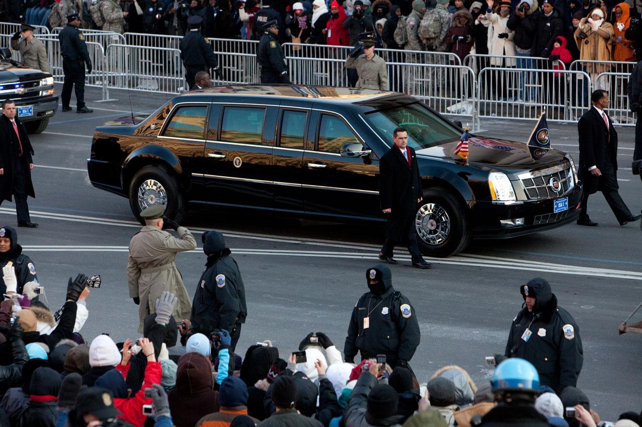 Obama Car: Mobileworld: Barack Obama's Super Car