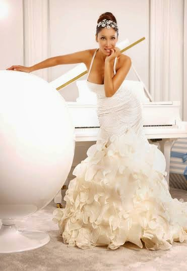 Sofia Hayat wears a one Crore dress for bridal wear shoot in London