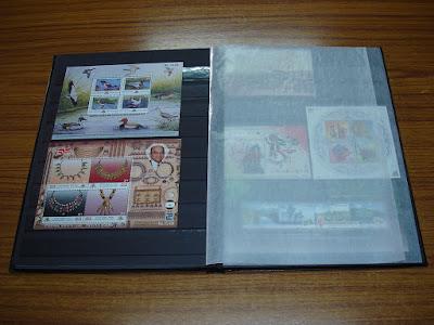 Albums de sellos postales