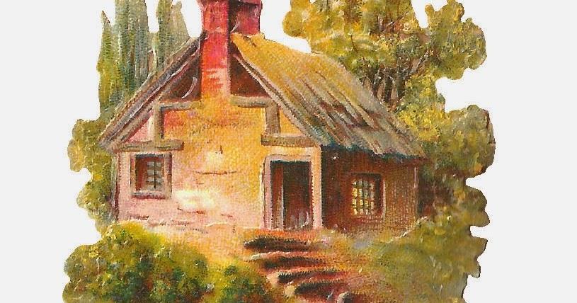 Antique Images: Free Digital House Image: Digital Clip Art ... (815 x 428 Pixel)