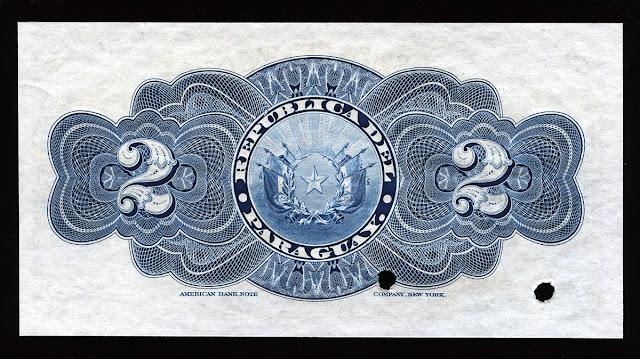 Billetes Paraguay pesos fuertes