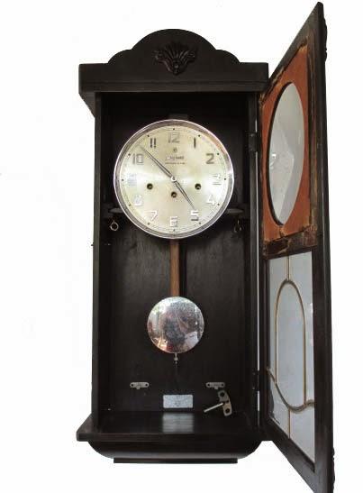 Jam Junghans Westminster de Luxe  18. Satu unit jam dinding antik djadoel  Junghans berukuran jumbo 78bc579b78