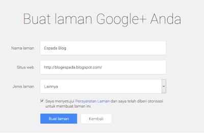 Cara Membuat Halaman Fanspage Google Plus 13