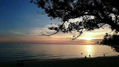 Tempat Menarik di Melaka Pengkalan Balak Sunset