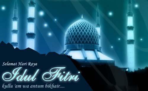 Kumpulan Ucapan Selamat di Hari Raya Idul Fitri