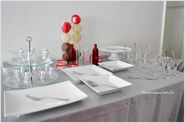 mesa ceia natal decoração