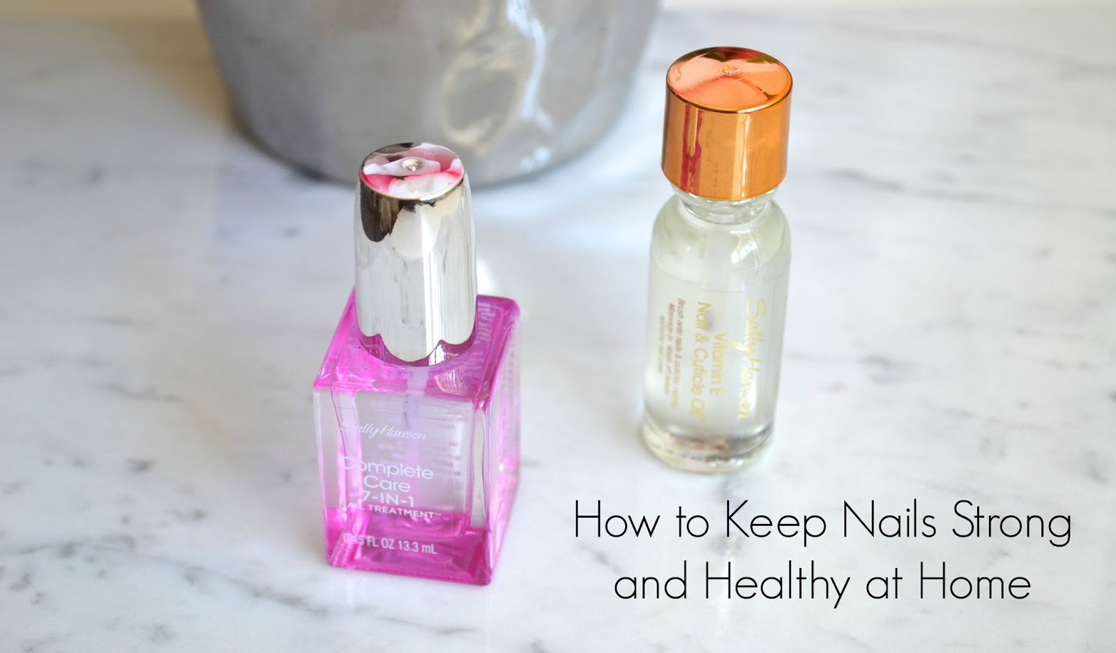 How To Keep Nails Strong With Sally Hansen | Aquaheart
