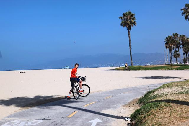 cykla i Los Angeles