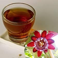 infusiones de flor de azahar, pasiflora y melisa
