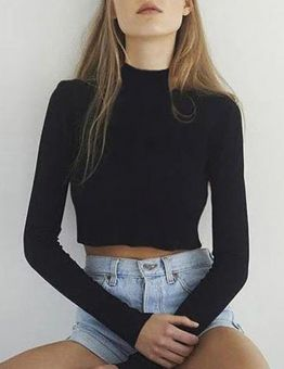 Chic Elastic Knitted Sweater