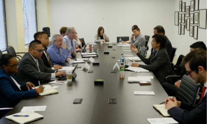 In Photo: Members of the US-Asean Business Council (US-ABC) hosted a roundtable for Trade Undersecretary Nora K. Terrado on February 22 in Washington, D.C.
