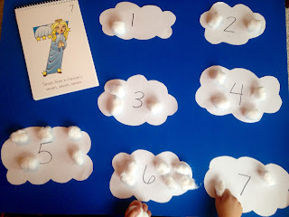 Teach number cloud activity