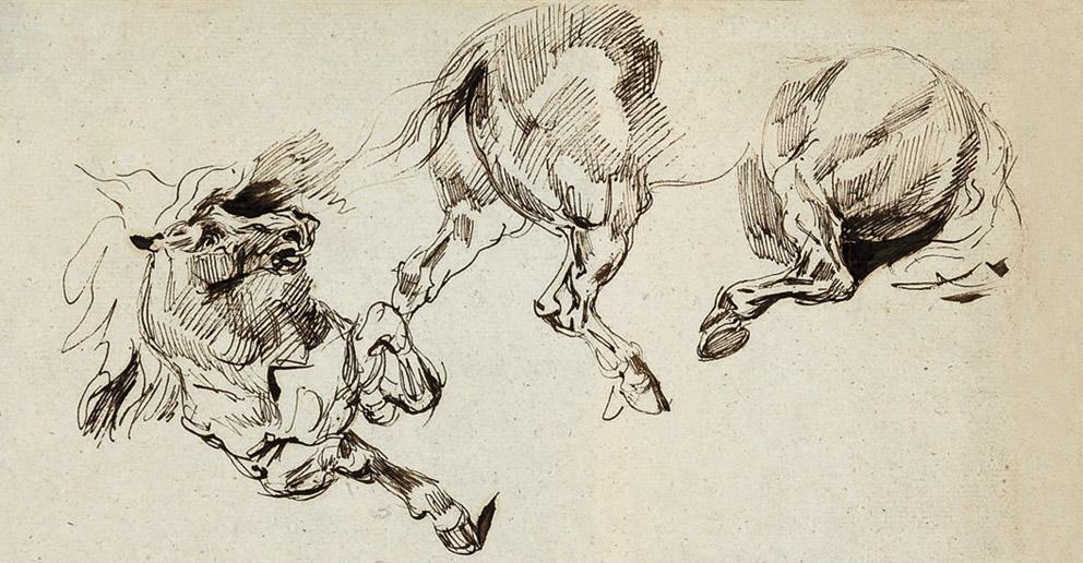 Luzyarte: Eugène Delacroix y la importancia del dibujo