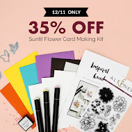 35% Off Sunlit Flower Card Kit