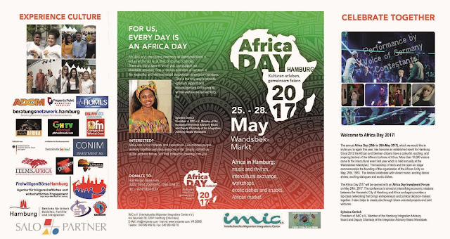 Africa Day 2017 Programs - Hamburg Germany [Flyers]