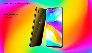 is launched inward China together with the unloose appointment of this yell is non confirmed inward the internatio Vivo Y83 2018 Officially launched alongside 3,260 mAh battery