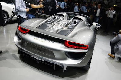 Porsche 918 Spyder trasmission: 7-speed