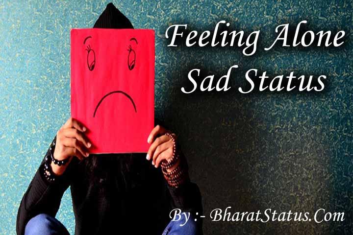 Top Sad Status Best Feeling Alone Shayari In Hindi