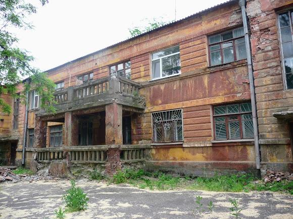 Константиновка. Общежитие цинкового завода